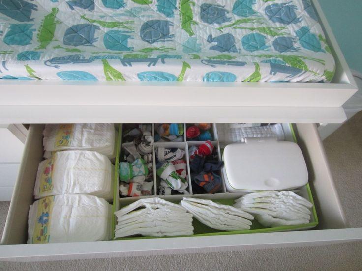 IKEA drawer dividers.  My organization dream