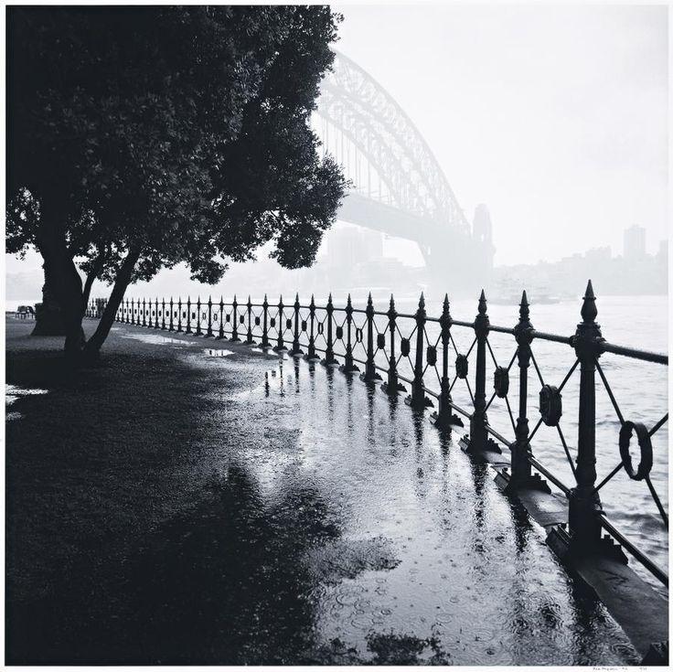 REX DUPAIN - SYDNEY RAIN, BRIDGE, 1996