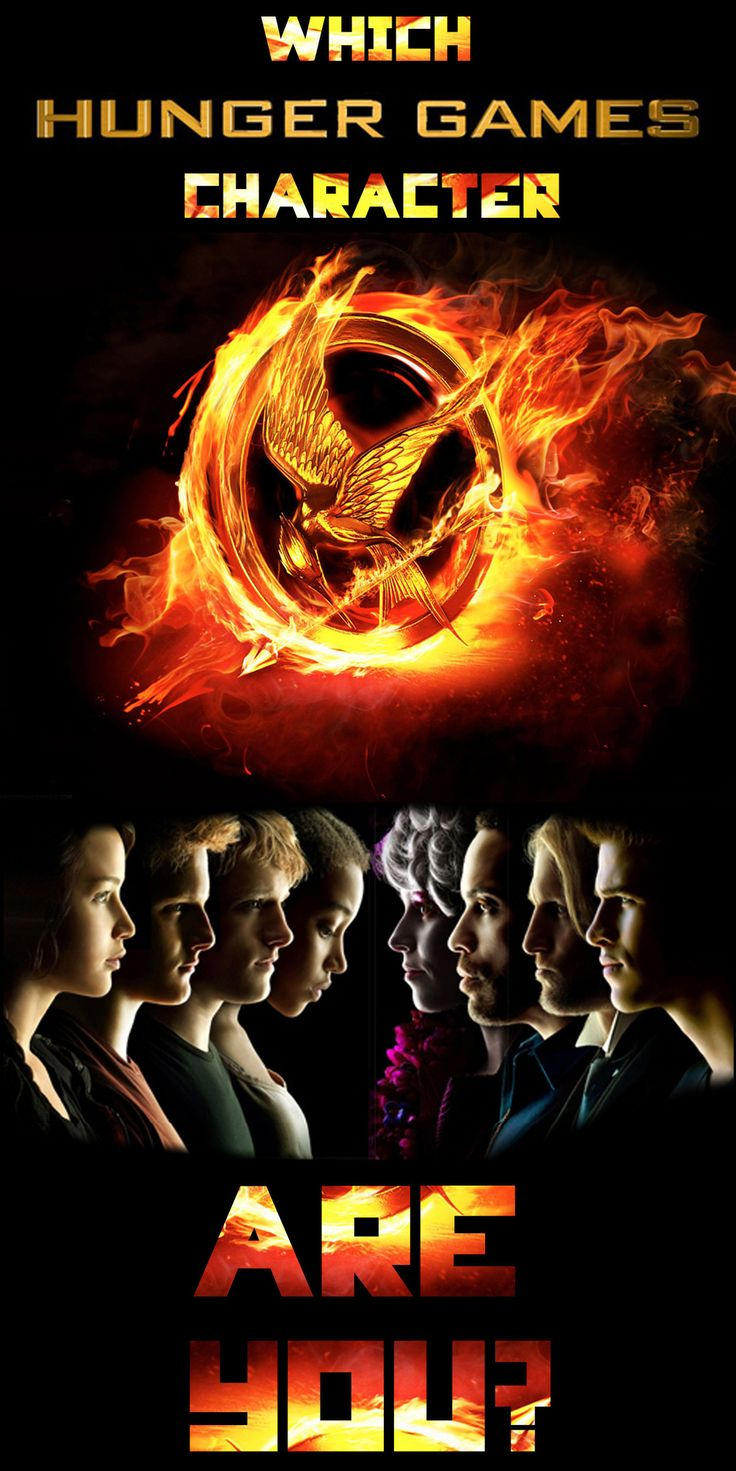 You got: Katniss Everdeen!  You're smart, talented, and fiercely independent. You may not mean to but everyone looks up to you. Not only have you got a fiery spirit but you have a big heart — your friends and family mean the world to you. Keep on being you.