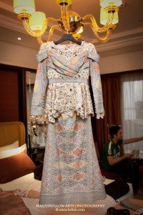 songket and lace