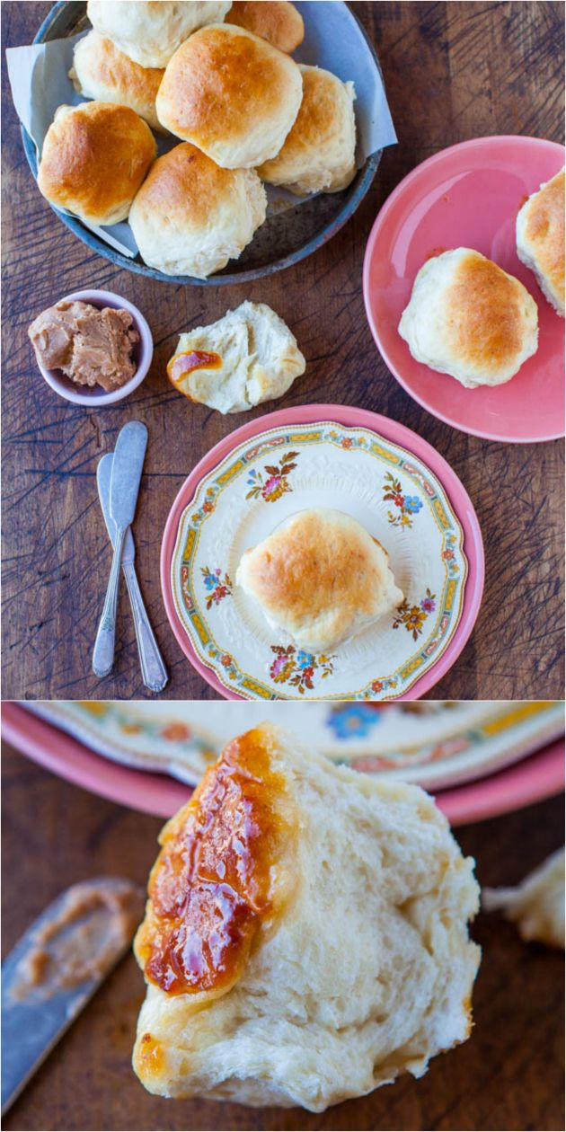 The Best Soft and Fluffy Honey Dinner Rolls