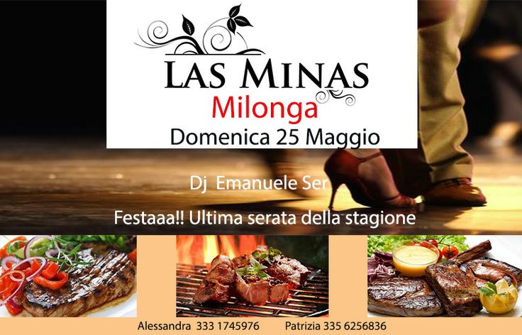 Ultima serata stagione 2013/14 Las Minas Milonga