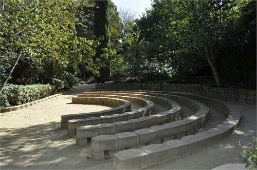 South Coast Botanic Garden Amphitheater Casual Wedding Pinterest Gardens
