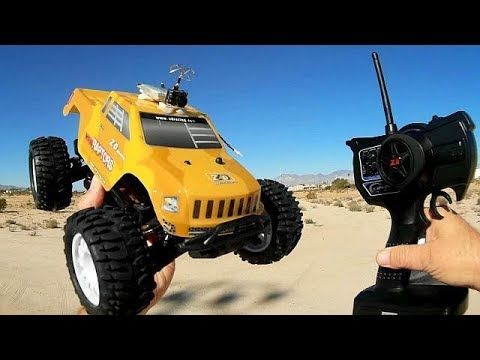 ZD Racing 9053 MT16 Raptors Brushless RC Car Drive Test Review