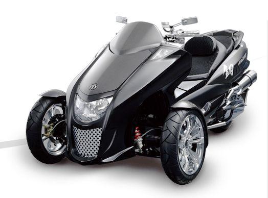 three wheel motorbikes for adults | ... three-wheel and robotics expertise to create a tilting three-wheeled
