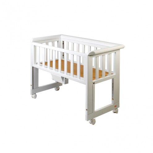 Bedside Crib vugge/benk hvit