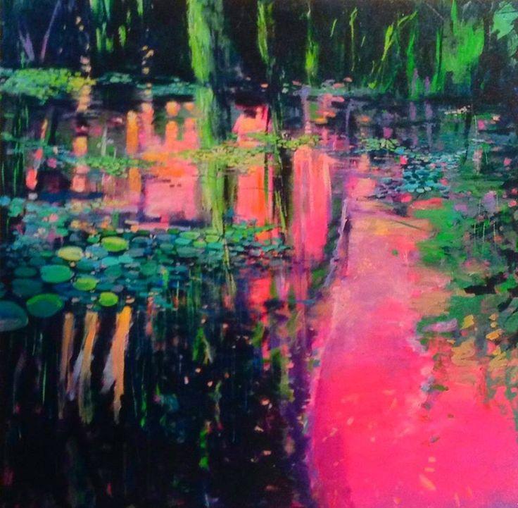 John Gibson - Artist Lillies