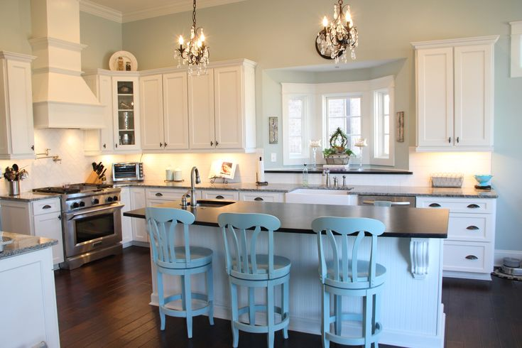 21 best sherwin williams copen blue images on pinterest for New kitchen colors