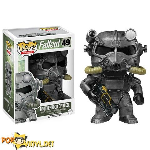 Brotherhood of Steel fallout 3 pop vinyl
