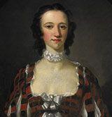 painting of Flora MacDonald in 1747