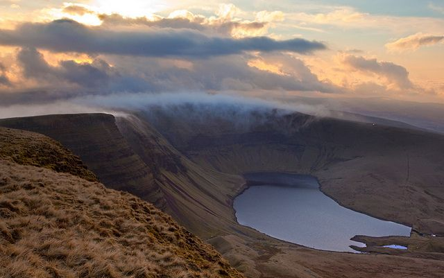 Llyn y Fan Fach, Black Mountain, Wales