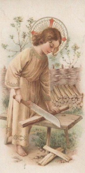 El trabajo dignifica al hombre. Si nos cansamos, mirando a Jesús, todo seá más liviano y lo viviremos con alegría