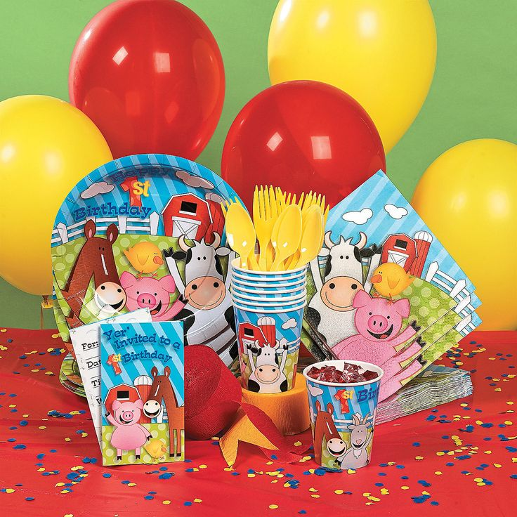 Celebrate Babys First Birthday With A Farm Party Filled Friendly Barnyard Animals And Fun