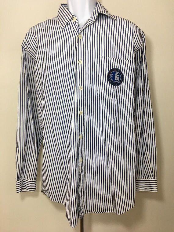 90s Ralph Lauren Vintage Polo 1997 Button Up Shirt Medium M
