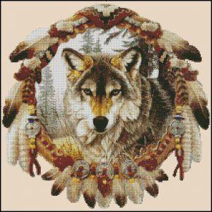 FREE WOLF CROSS STITCH PATTERNS – 1000 FREE PATTERNS