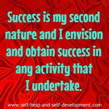 Daily affirmation for attaining success in any activity I undertake.
