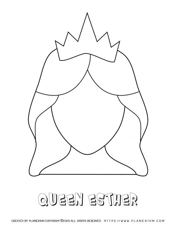 Best Printables For Purim 2021 Planerium In 2021 Queen Esther Crafts Queen Esther Coloring Pages