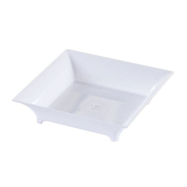 Mini Ware Plastic Square Plates with Legs White/Case of 288 | Products | Pinterest | Square plates Ware F.C. and Squares  sc 1 st  Pinterest & Mini Ware Plastic Square Plates with Legs White/Case of 288 ...