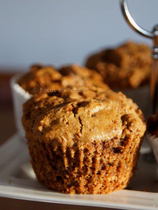 Als je suikervrij, tarwevrij of gewoon gezonder wilt eten, zijn deze Tarwevrije Speculaas muffins zonder geraffineerde suiker echt een hit!