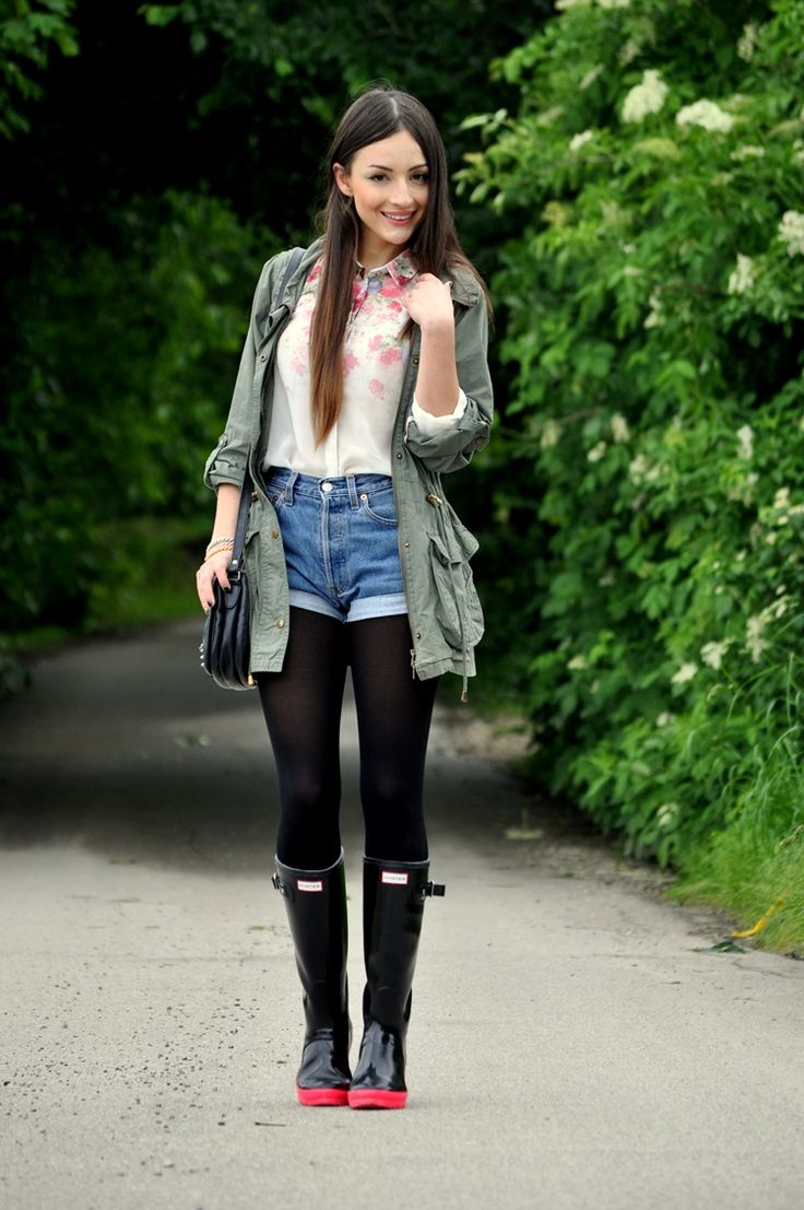 Hunter boots. Love the red soles! | Hunter Boots ...