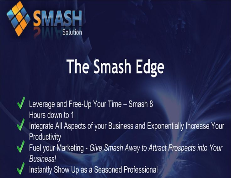 Let Smash Solutions provide you with an easy to use Business Hub to handle your Contact Management needs. http://www.smashsolutions.com/?ref=3197