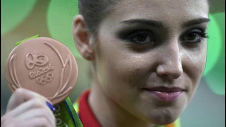Гимнастка Мустафина принесла России 17 олимпийскую медаль