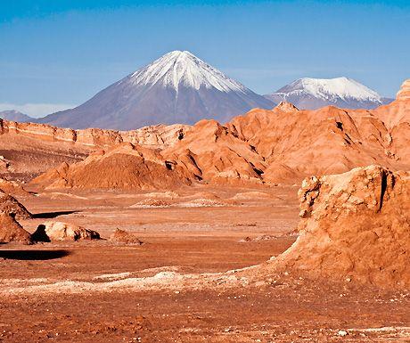 Valle de la Luna (Valley of the Moon) is located 8 miles west of the beautiful town of San Pedro de Atacama, Chile, in the Atacama desert www.visitchile.cl