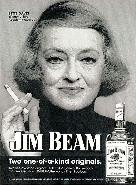 Bette Davis for Jim Beam - 1974 [442 x 599] (x/post/r/OldSchoolRidiculous)