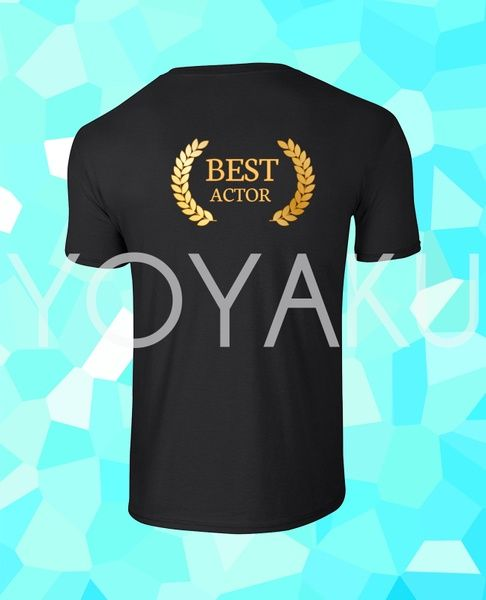 "Kaos ""Best Actor"" Via bukalapak.com/yoyaku"
