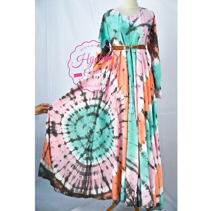 Godet Dress Baju Gamis Panjang dan Super Lebar VD 0201-014 Godet Dress VD 0201-011 Material rayon All size fit to XL Price : Rp. 350.000  Order via Line : hijab_id Sms/whatsapp : +6283848377733 Bbm 2 : 7ED1A4C1