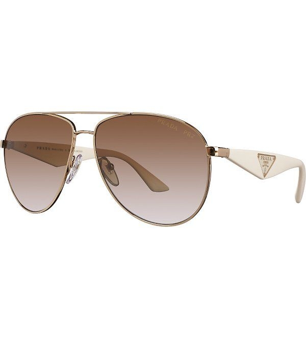 95ba9dd590b8 PRADA Aviator sunglasses PR 53QS 60 | My style |ACCESSORIES| | Sunglasses,  Prada, Fashion
