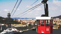 Teleferico del Puerto, Barcelona - Schedules and Prices | telefericodebarcelona.com.  11 euro one way, 16.5 euro round trip