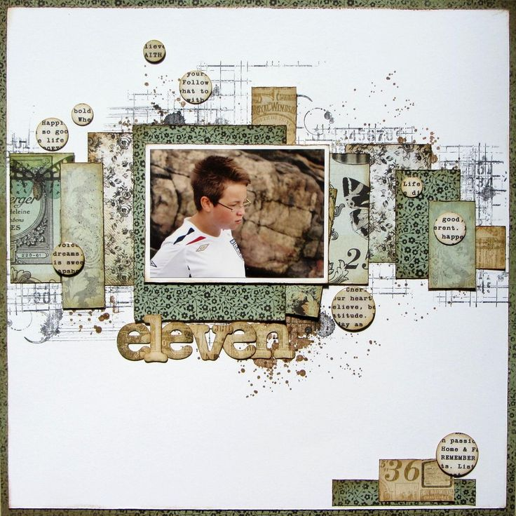 """Created by Elizabeth for a Crafty Daze class. Using Kaisercraft """"75 Cents"""" papers."""