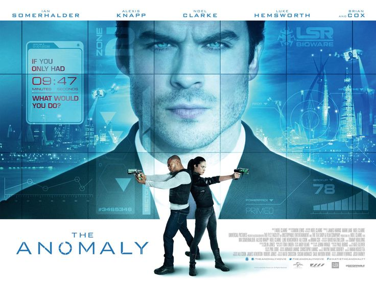 Ian Somerhalder stars in confusing trailer for sci-fi thriller 'The Anomaly'