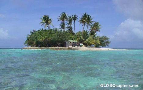 Weno, Chuuk Micronesia, Federated States of - Island in the lagoon