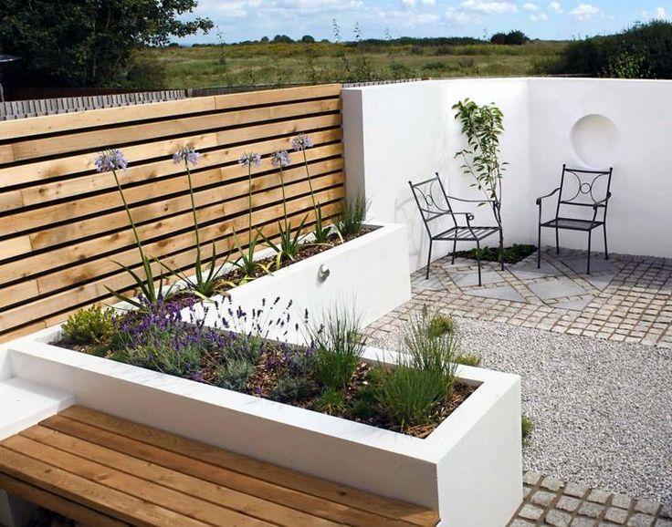 petit jardin de déco minimaliste