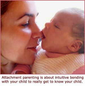 """I love this attachment parenting website. This is exactly the way I choose to parent. How refreshing to """"hear"""" it from someone else."""