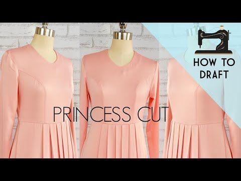 Tutorial Cara Membuat Pola Dasar Baju Dan Pola Gamis Sangat Mudah