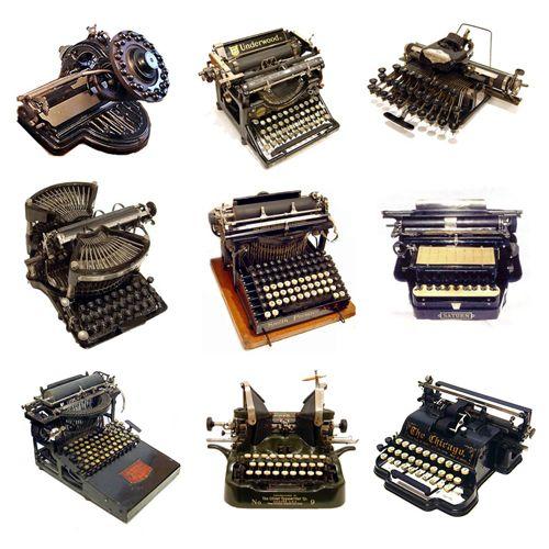 maquinas de escribir antiguas: Unique Collection, Escribir Antigua