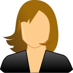 Faceless Woman clip art - vector clip art online, royalty free ...