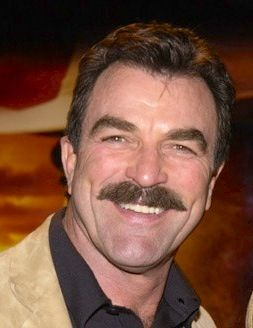 TOM SELLECK & SAM ELLIOTT --- TWO GREAT GUYS............ccp
