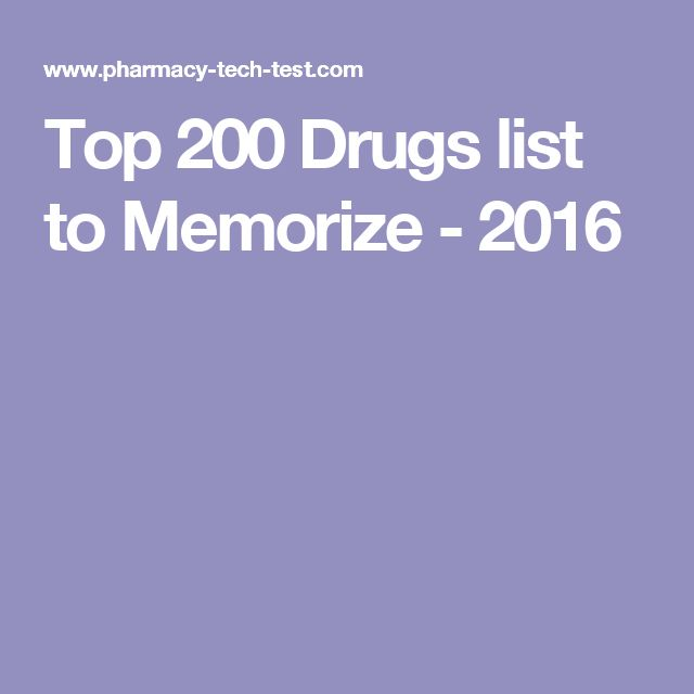 33 best exam prep guides images on pinterest number beauty this is the top 200 drugs list to memorize in preparation for the ptcb or excpt fandeluxe Image collections