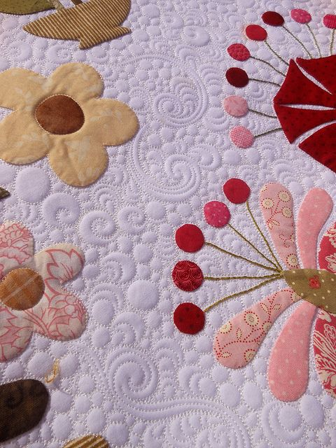 Great background fill by Judi at GreenFairy Quilts