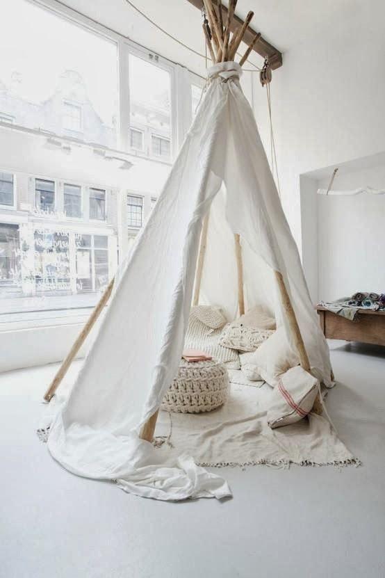 Ben helemaal weg van de trend in kindertentjes, super knus en leuk in de slaapkamer, speelkamer of woonkamer