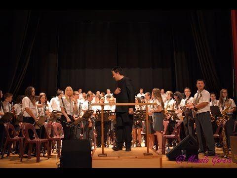 Actuacion Rondalla, Masa Coral y Banda Musica Almadén, 2ºAniversario Patrimonio Mercurio
