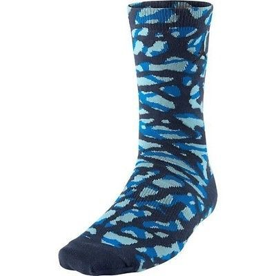 NWT Nike Air Jordan Elephant Print Camo Navy Blue Black Socks 716855-437 SZ 8-12 #Clothing, Shoes & Accessories:Men's Clothing:Socks ##nike #jordan #girls $10.00
