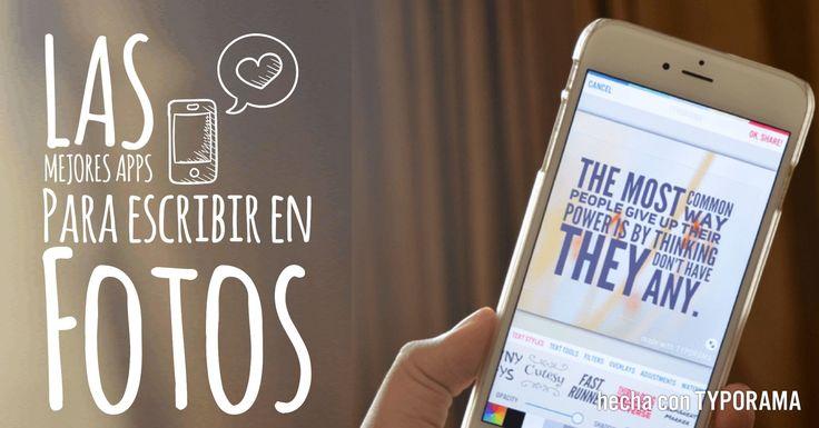 Las mejores aplicaciones gratis para agregar texto a las imágenes en iPhone.