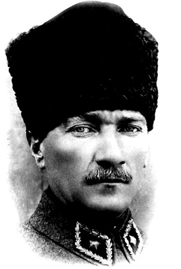 Mustafa Kemal Atatürk, the founder of Turkey  http://nalan1907.blogspot.com.tr/