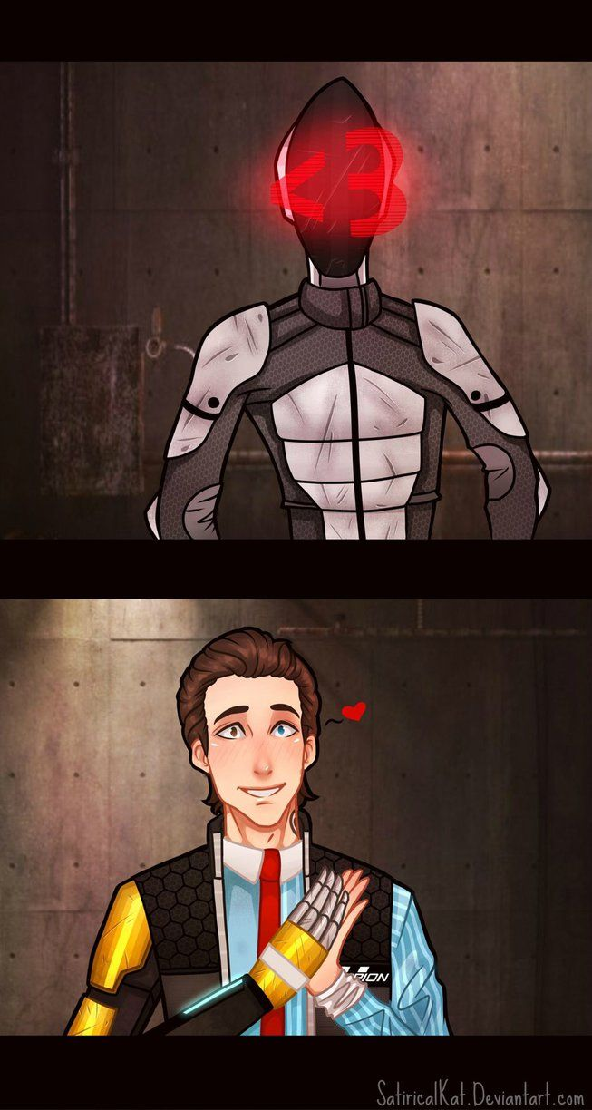 Tales From the Borderlands: Zero and Rhys by SatiricalKat on DeviantArt