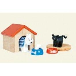Huisdiertjes maken jouw poppenhuis pas écht compleet!
